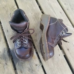 Dr Martens Vtg MIE 8542 Lace Up Work Boots 8.5-9